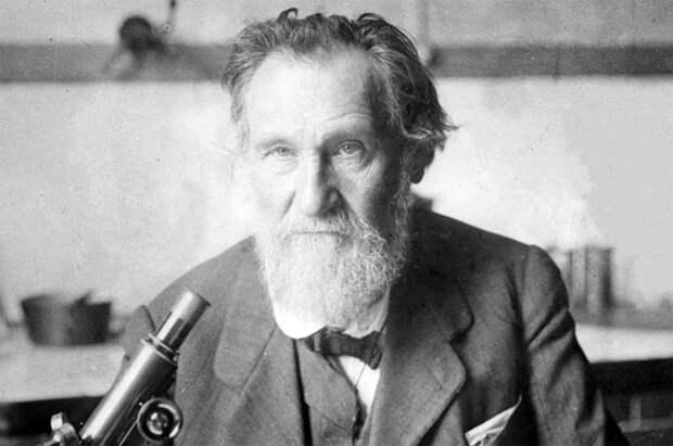 Великий русский учёный, нобелевский лауреат Илья Мечников.