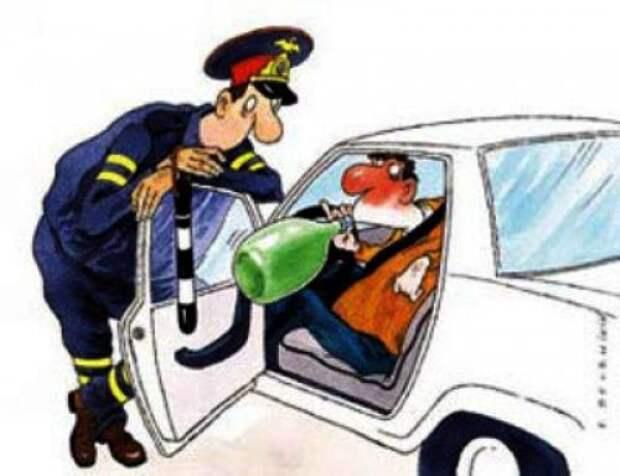 Пьяный водитель....