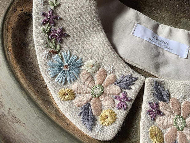 Невыносимая нежность бытия: японская мастерица украшает аксессуары вышивкой и превращает их в идеальные образчики женственности