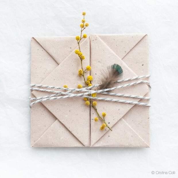 Оригами упаковка подарка