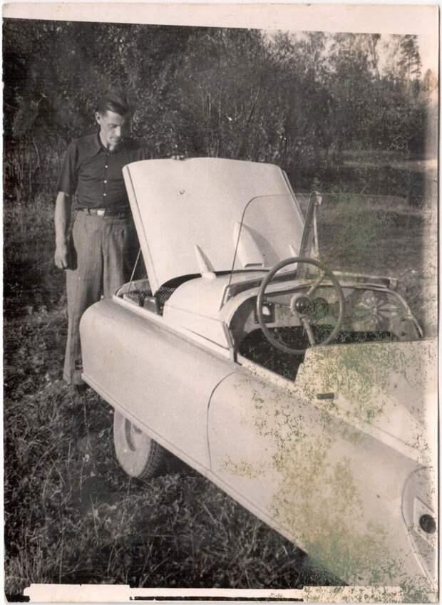 Дальше речь пойдет о самоделках моего деда. авто, ретро фотографии, самоделка, своими руками