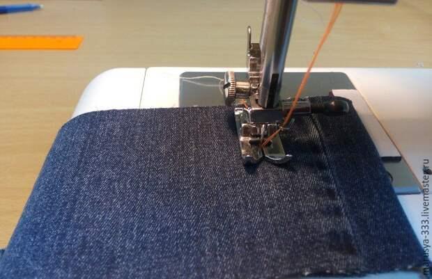 Отделочная строчка в три нитки (DIY)