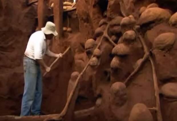Учёные раскопали колоссальный подземный город муравьёв - видео-06