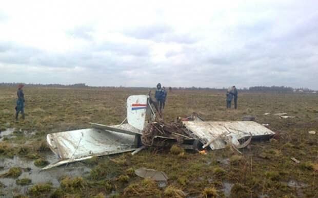 Следователи возбудили дело в связи с авиакатастрофой в Подмосковье