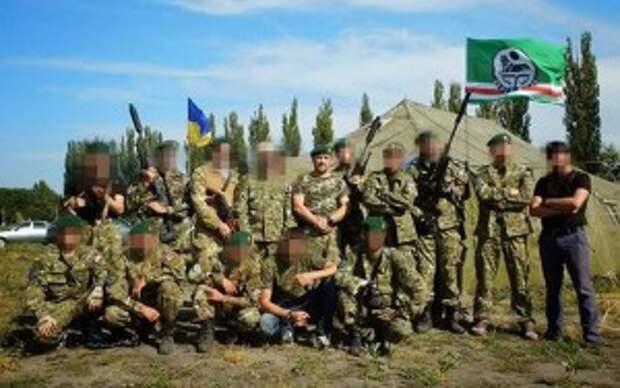 Исламские боевики на службе киевского режима