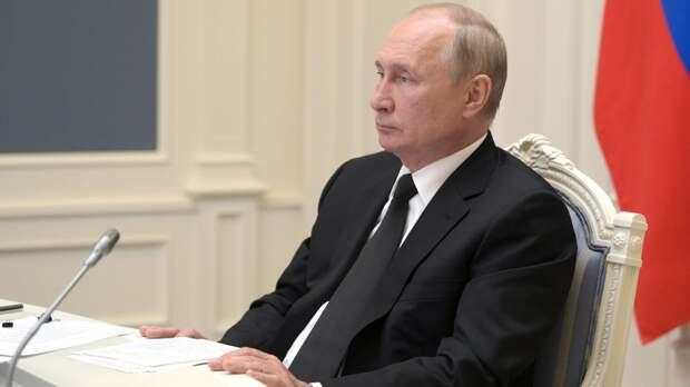 Путин обратился к москвичам по случаю Дня города