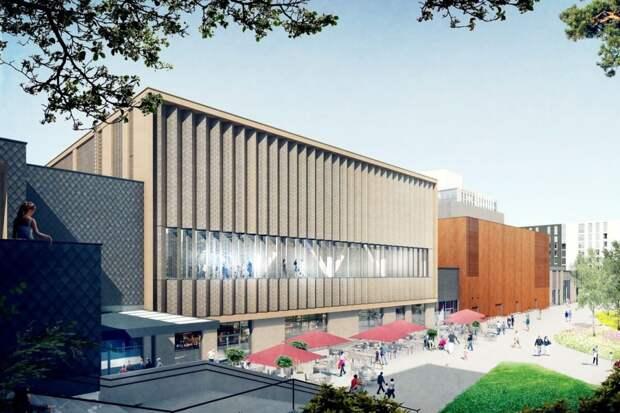 Торговый центр Lippulaiva готовится к открытию в Хельсинки