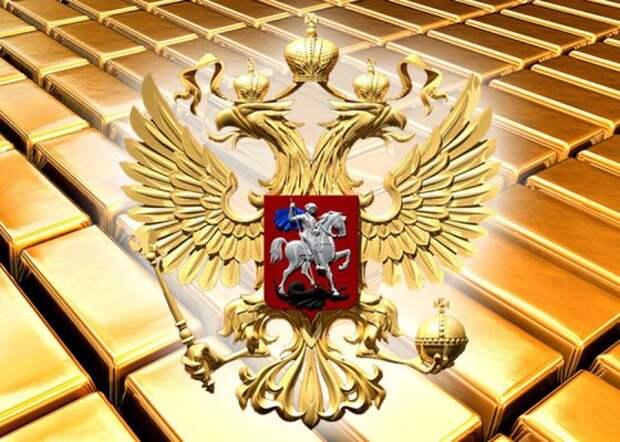 """Центробанки мира сбрасывают гособлигации США, Россия стала """"золотой"""""""