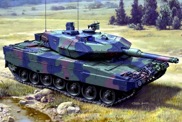 Германии не хватит танков для противостояния с РФ под Калининградом