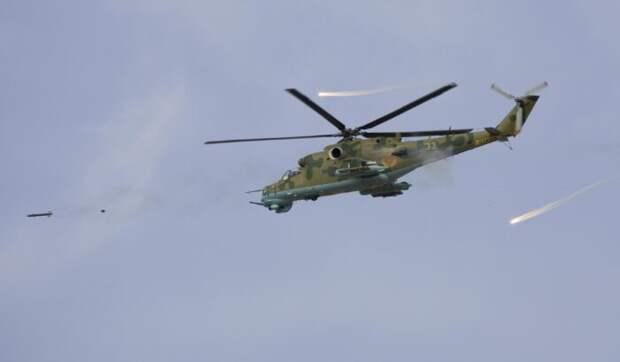 ВСирии атакован российский вертолет, сообщается одвух погибших