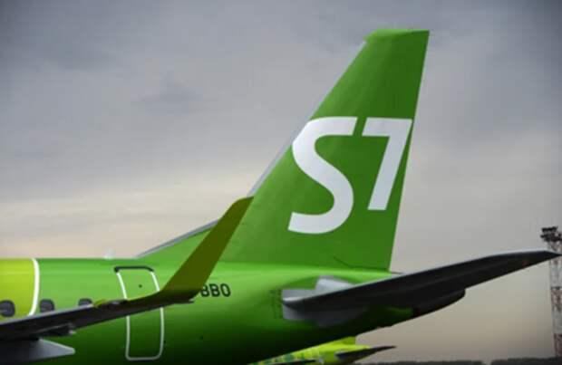 S7 Airlines в 2020 году сократила перевозки пассажиров на треть