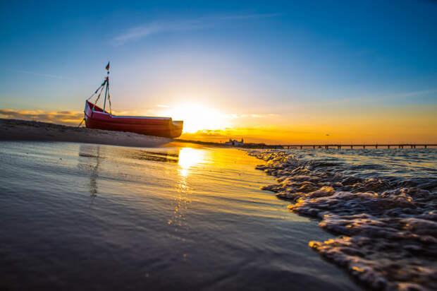Альбек: пляжная безмятежность