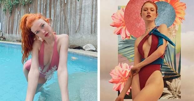 Анджелина Мишель — рыжеволосая красавица из России, признанная идеалом