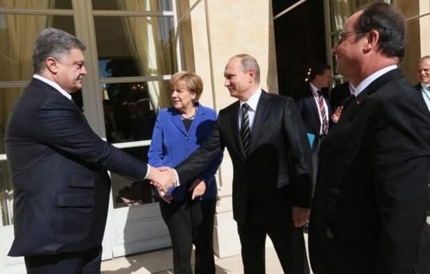 Черная рука Порошенко