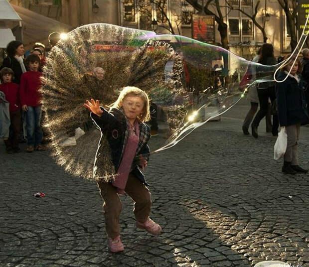 23. Лопнул пузырь момент, фотография