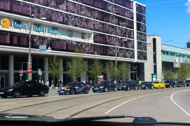 Автопробег Победы в Таллине