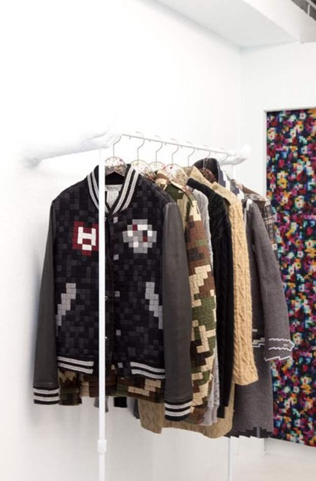 """""""8 bit"""" - магазин одежды в Токио"""