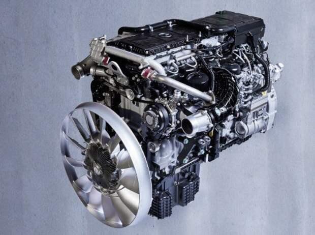 Дизельный двигатель OM 471 от Mercedes-Benz