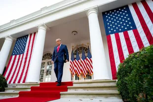 Белый дом анонсировал выступление Трампа с «победной» речью