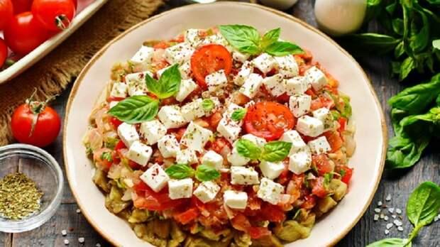 Вкусный салат из баклажанов: в сезон готовлю каждый день