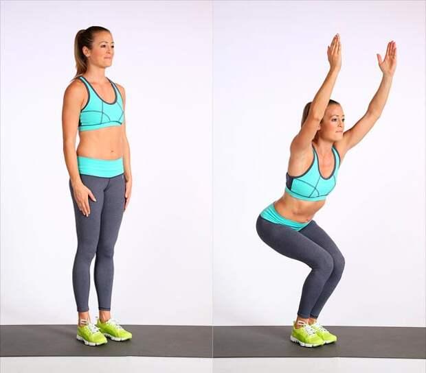 Эти 3 упражнения активируют процесс сжигания жира всего за 1 минуту!