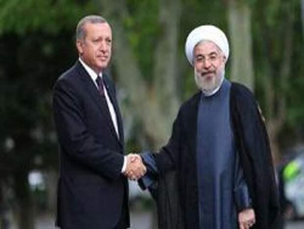 Эрдоган и Роухани