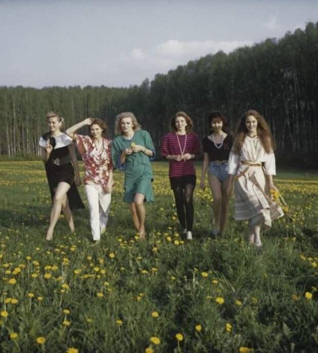 Первый всесоюзный конкурс красоты «Мисс СССР-1989»