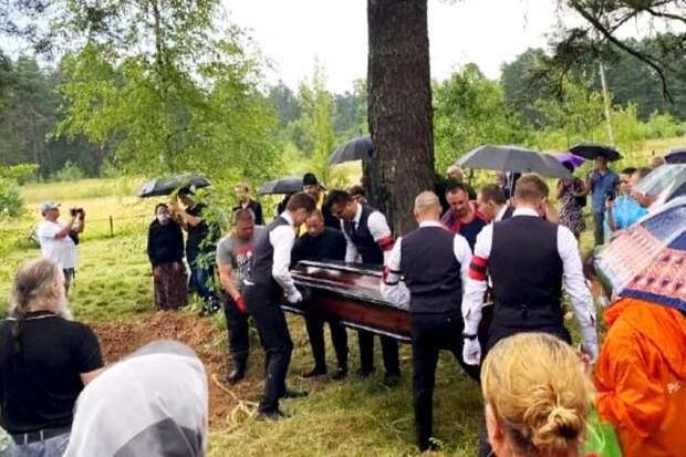 На похоронах Петра Мамонова случилось «дурное знамение»
