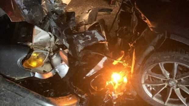 Полицейский на Кубани стал виновником лобового столкновения с тремя пострадавшими