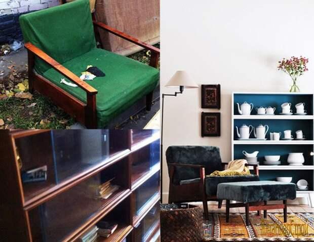 Новая жизнь старой советской мебели Редизайн, переделка, советская мебель