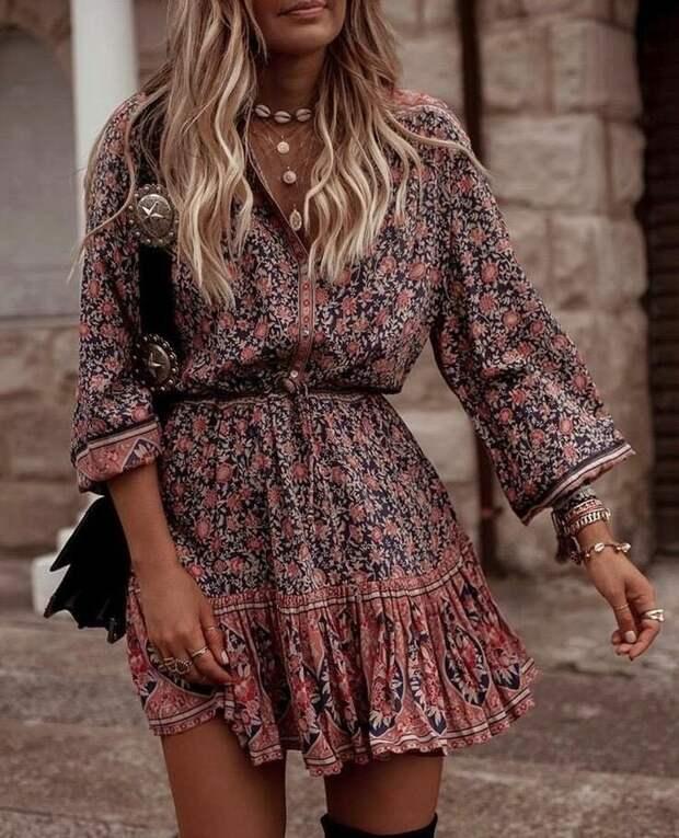 Платье в стиле кантри: как носить, чтобы не выглядеть деревенской простушкой