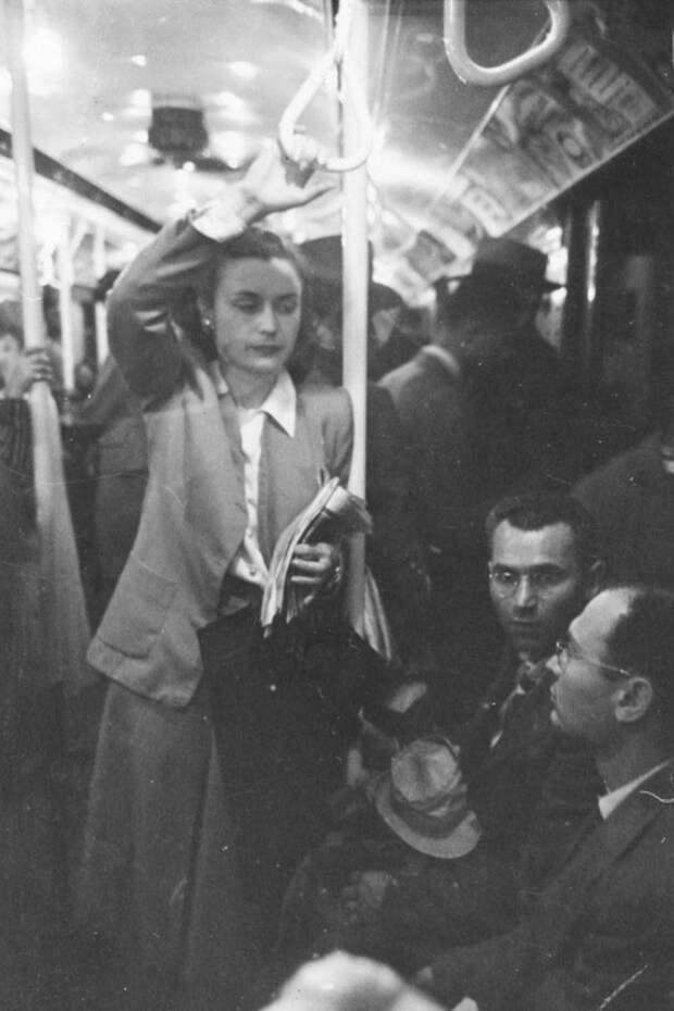Метро Нью-Йорка на снимках 17-летнего Стэнли Кубрика