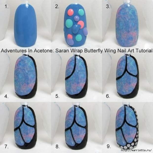 Как нарисовать бабочку на ногтях (30) (600x600, 168Kb)