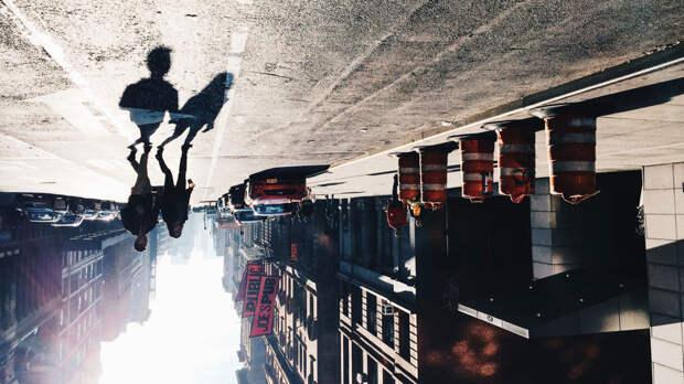 10 великолепных фотографий, на которых мир вверх тормашками