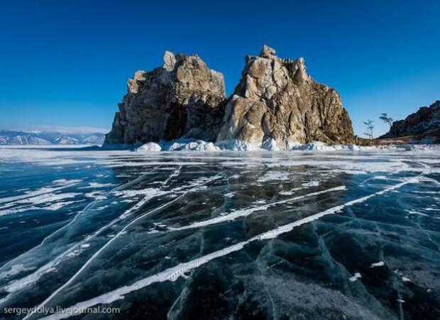 Байкал. Развлечения на льду