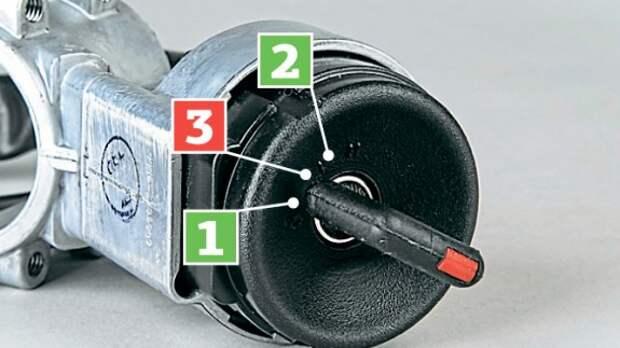 Блок-пост: как важно правильно поворачивать ключ в замке зажигания