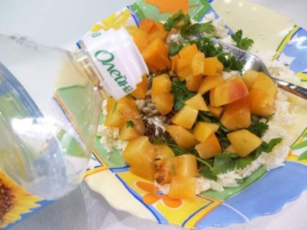 РАЗРЕШЕНО ХУДЕЮЩИМ. Оригинальный творожный салат