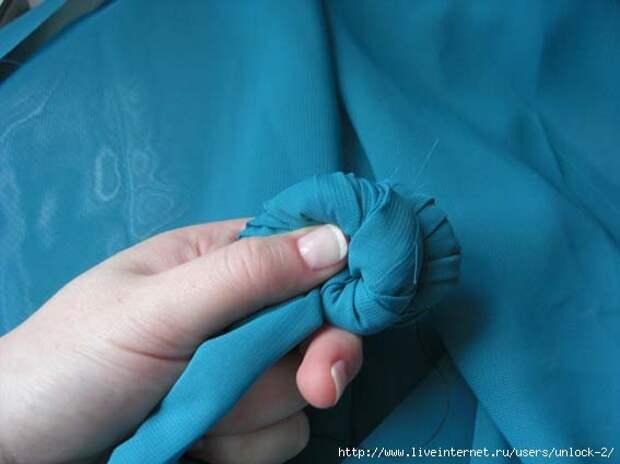 Два способа создания жатой ткани (мастер-класс)