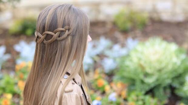 Цепочка из волос (Diy)