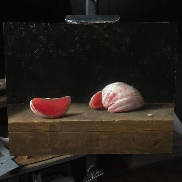 Американский художник Джастин Вуд и его натюрморты