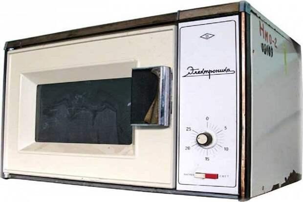 """Прототип первой микроволновки """"Электроника"""", 1984 год СССР, гаджет, история, стиралка, техника, факты"""