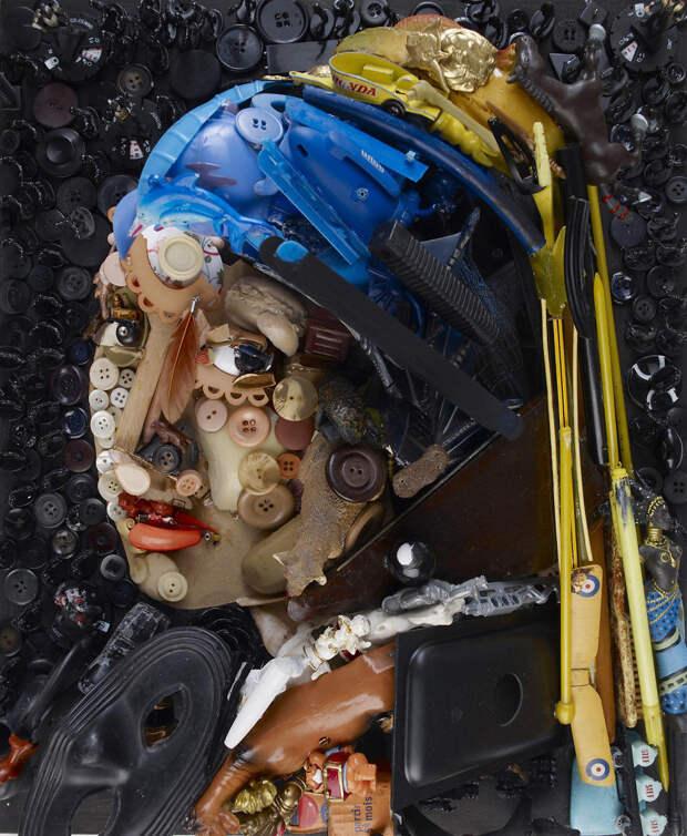 Скульптуры из мусора, на которые нужно посмотреть дважды, прежде чем понять их суть