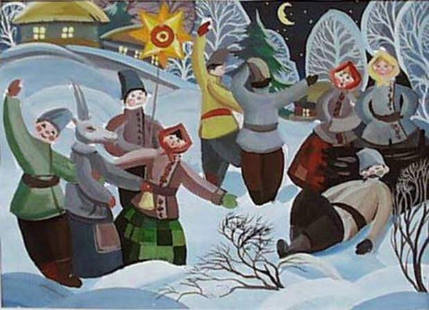 7 главных святочных забав