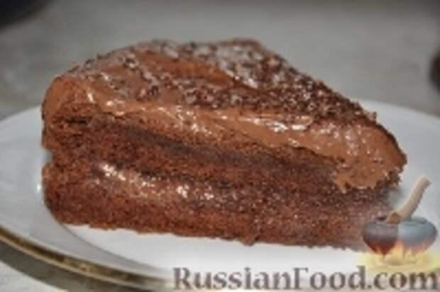 """Фото к рецепту: Торт """"Воздушно-шоколадный"""""""