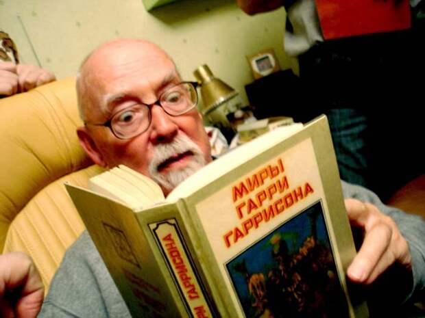 Сегодня 90 лет со дня рождения Гарри Гаррисона писатель, фантастика