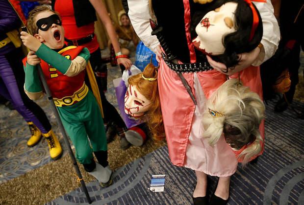 На четыре дня Чикаго превратился в город супергероев