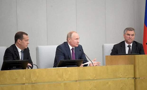 «Это не болтовня, мы всё посчитали»: Путин о новом майском указе