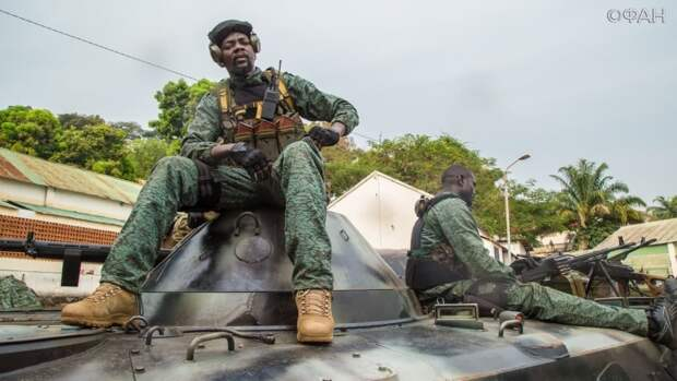 Вооруженные силы ЦАР установили контроль над городом Маркунда