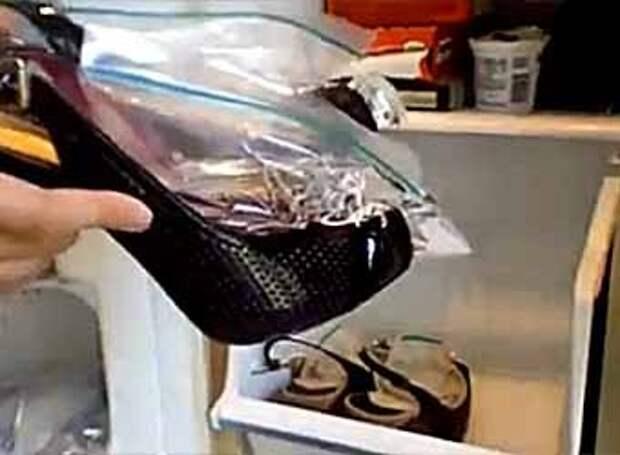 как растянуть обувь фото