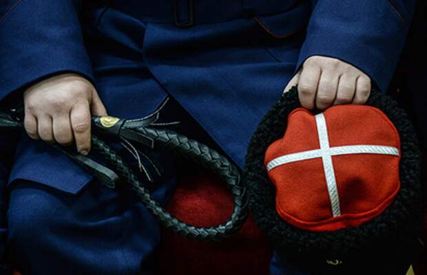 Наказание за хулиганство: провинившихся казаков отстегали их же товарищи